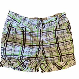 Other - 💫 3 for $20 Plaid Cuffed Girls' shorts Sz 128